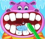 لعبة دكتور اسنان الحيوانات