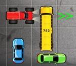 لعبة ركن السيارات فى الجراج